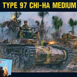 Warlord Games Bolt Action  Japan (BA) Japanese Type 97 Chi-Ha Tank - 402016002 - 5060393706083
