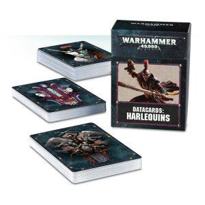 Games Workshop Warhammer 40,000  Harlequins Datacards: Harlequins - 60220111002 - 5011921099030