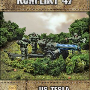 Warlord Games Konflikt '47  USA (K47) US Tesla Anti-Tank Gun - 452210402 - 5060572500815