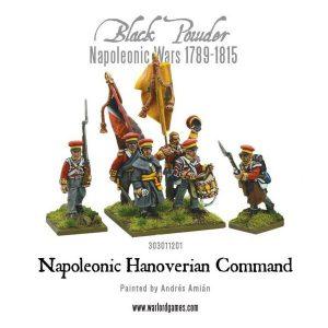 Warlord Games Black Powder  Kingdom of Hanover Hanoverian Command - 303011201 - 5060393704348