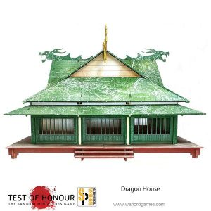 Warlord Games Test of Honour  Warlord Games Terrain Dragon House - B040 - 5060572500679