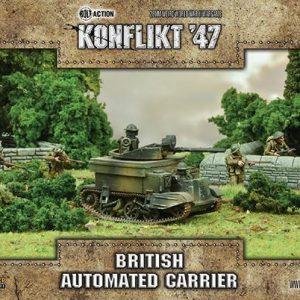 Warlord Games Konflikt '47  British (K47) British Automated Carrier - 452410606 - 5060393708438