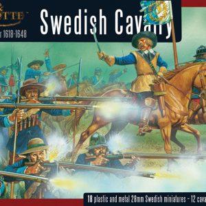 Warlord Games Pike & Shotte  Thirty Years War 1618-1648 Swedish Cavalry - WGP-14 - 5060200842317