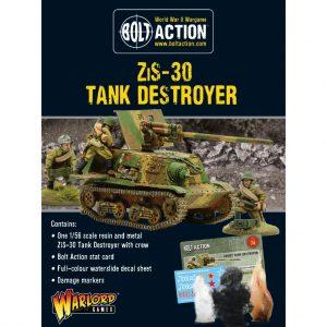 Warlord Games Bolt Action  Soviet Union (BA) Soviet ZIS-30 Tank Destroyer - 402414004 - 5060572506046