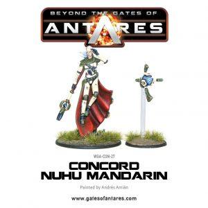 Warlord Games Beyond the Gates of Antares  PanHuman Concord Concord C3 Nu-Hu Mandarin - WGA-CON-27 - 5060393701781