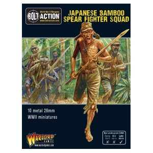 Warlord Games Bolt Action  Japan (BA) Japanese Bamboo Spear Fighters - 402216001 - 5060393706007