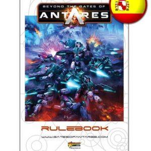 Warlord Games Beyond the Gates of Antares  Antares Essentials Beyond the Gates of Antares Rulebook (Spanish) - WGA-07 - 9780993058967