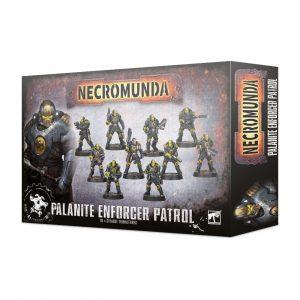 Games Workshop Necromunda  Necromunda Necromunda: Palanite Enforcer Patrol - 99120599011 - 5011921125418