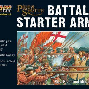 Warlord Games Pike & Shotte  Thirty Years War 1618-1648 Pike & Shotte Starter Battalia - WGA-PS-1 - 5060200841044