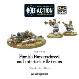 Warlord Games Bolt Action  Finland (BA) Finnish Panzerschreck & anti-tank rifle teams - WGB-FN-23 - 5060200847657