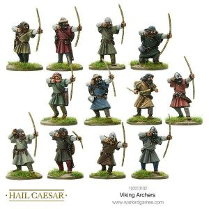 Warlord Games Hail Caesar  The Dark Ages Viking Archers - 103013102 - 5060572500075