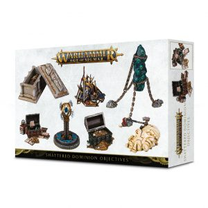 Games Workshop Age of Sigmar  Age of Sigmar Essentials Age of Sigmar Shattered Dominion Objective Markers - 99220299073 - 5011921104574