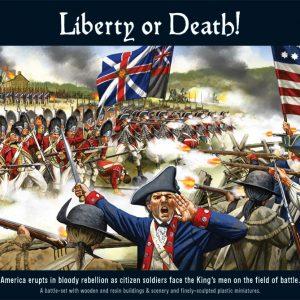 Warlord Games Black Powder  American War of Independence Liberty or Death: American War of Independence - WGR-START-01 - 5060393702474