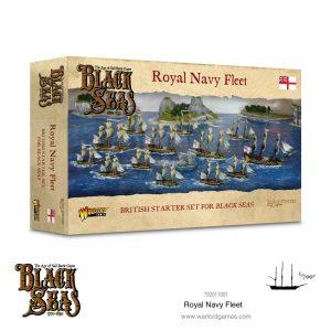Warlord Games Black Seas  Black Seas Black Seas: Royal Navy Fleet (1770-1830) - 792011001 - 5060572505162