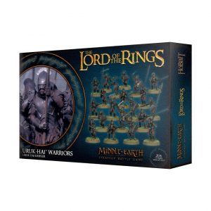 Games Workshop Middle-earth Strategy Battle Game  Evil - Lord of the Rings Lord of The Rings: Uruk-Hai Warriors - 99121462013 - 5011921109265