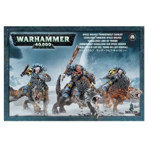 Games Workshop Warhammer 40,000  Space Wolves Space Wolves Thunderwolf Cavalry - 99120101350 - 5011921149261