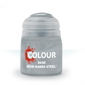 Games Workshop   Citadel Base Base: Iron Hands Steel - 99189950128 - 5011921117567
