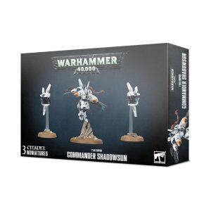 Games Workshop Warhammer 40,000  T'au Empire T'au Empire Commander Shadowsun - 99120113066 - 5011921129812