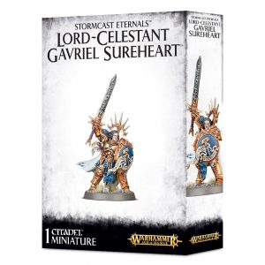 Games Workshop Age of Sigmar  Stormcast Eternals Lord-Celstant Gavriel Sureheart - 99120218027 - 5011921091348