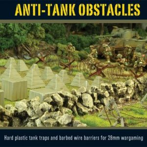 Warlord Games   Warlord Games Terrain Anti-Tank Obstacles - WG-TER-39 - 5060393700067