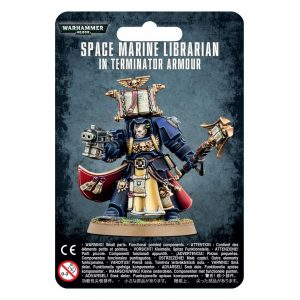 Games Workshop (Direct) Warhammer 40,000  Space Marines Space Marine Librarian in Terminator Armour - 99070101033 - 5011921091553