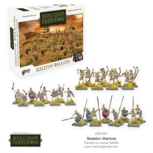 Warlord Games Warlord of Erehwon  Warlords of Erehwon Warlords of Erehwon: Skeleton Warriors - 692010001 - 5060572502246