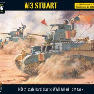 Warlord Games Bolt Action  Germany (BA) M3 Stuart - 402013002 - 5060393704706