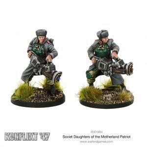 Warlord Games Konflikt '47  Soviet Union (K47) Daughters of the Motherland Patriot Team - 453010804 - 5060572500808