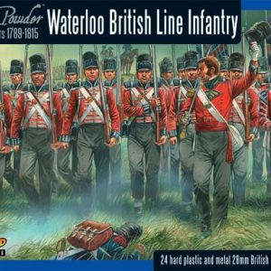 Warlord Games Black Powder  British (Napoleonic) British line Infantry (Waterloo) (24) - WGN-BR-12 - 5060393701910