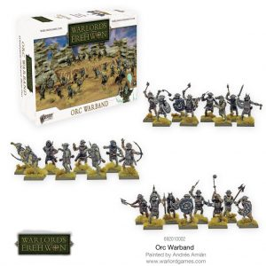 Warlord Games Warlord of Erehwon  Warlords of Erehwon Warlords of Erehwon: Orc Warband - 692010002 - 5060572502253