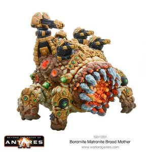 Warlord Games Beyond the Gates of Antares  Boromite Guilds Boromite Brood Mother - WGA-BOR-502412001 - 5060393704980