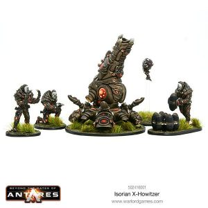 Warlord Games Beyond the Gates of Antares  Isorian Senatex Isorian X Howitzer - 502416001 - 5060393705505