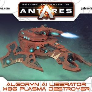 Warlord Games Beyond the Gates of Antares  Algoryn Algoryn Liberator with Plasma Destroyer - 502411006 - 5060393706373