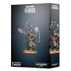 Games Workshop Warhammer 40,000  Iron Hands Iron Hands Feirros - 99120101291 - 5011921140817