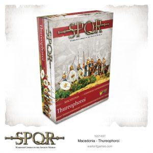 Warlord Games SPQR  SPQR SPQR: Macedonian Thureophoroi - 152214027 - 5060572504912