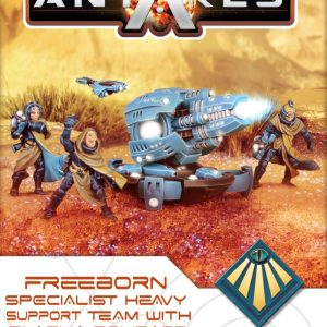 Warlord Games Beyond the Gates of Antares  Freeborn Freeborn Plasma Bombard - 502414010 - 5060393708308