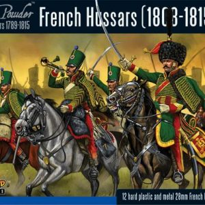 Warlord Games Black Powder  French (Napoleonic) French Hussars - 302012002 - 5060393702542