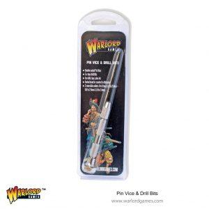 Warlord Games   Warlord Games Tools Pin Vice and Drill Bits - 843419906 - 5060572504042