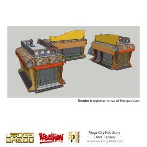 Warlord Games Judge Dredd  Judge Dredd Judge Dredd: Mega-City Hab Zone - JD03 -