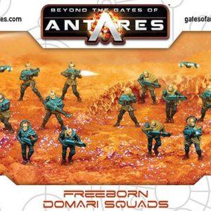 Warlord Games Beyond the Gates of Antares  Freeborn Freeborn Domari Squad - 502014001 - 5060393706236