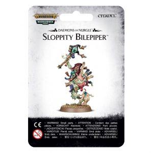 Games Workshop Warhammer 40,000 | Age of Sigmar  Maggotkin of Nurgle Sloppity Bilepiper, Herald of Nurgle - 99079915004 - 5011921092512