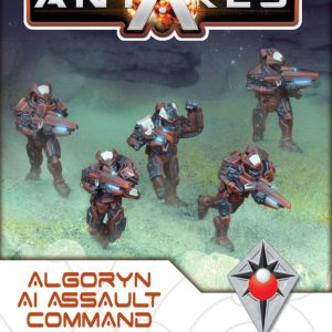 Warlord Games Beyond the Gates of Antares  Algoryn Algoryn Assault Command Squad - 502211010 - 5060393708322