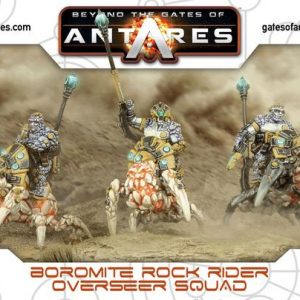Warlord Games Beyond the Gates of Antares  Boromite Guilds Boromite Rock Riders Overseer Squad - 502412003 - 5060393705901