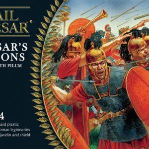 Warlord Games Hail Caesar  Caesarean Romans Caesarian Romans with Pilum (24) - WGH-CR-02 - 5060200845691