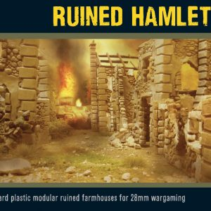 Warlord Games   Warlord Games Terrain Ruined Hamlet - 802010005 - 5060572500013