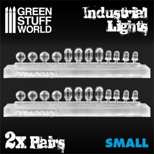 Green Stuff World   Lighting & LEDs 24x Resin Industrial Lights - Small - 8436574504798ES - 8436574504798