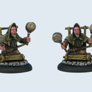 Micro Art Studio   Discworld Miniatures Discworld Arnold Sideways (1) - D02200 - 5900232352234