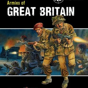 Warlord Games Bolt Action  Bolt Action Books & Accessories Bolt Action: Armies of Great Britain - BOLT-ACTION-3 - 9781780960890