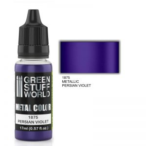 Green Stuff World   Acrylic Metallics Metallic Paint PERSIAN VIOLET - 8436574502343ES - 8436574502343