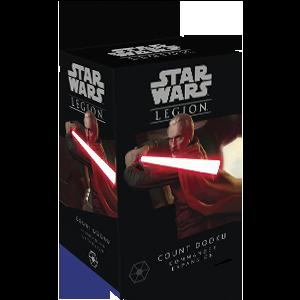 Fantasy Flight Games Star Wars: Legion  Separatist Alliance - Legion Star Wars Legion: Count Dooku Commander - FFGSWL45 - 841333109219